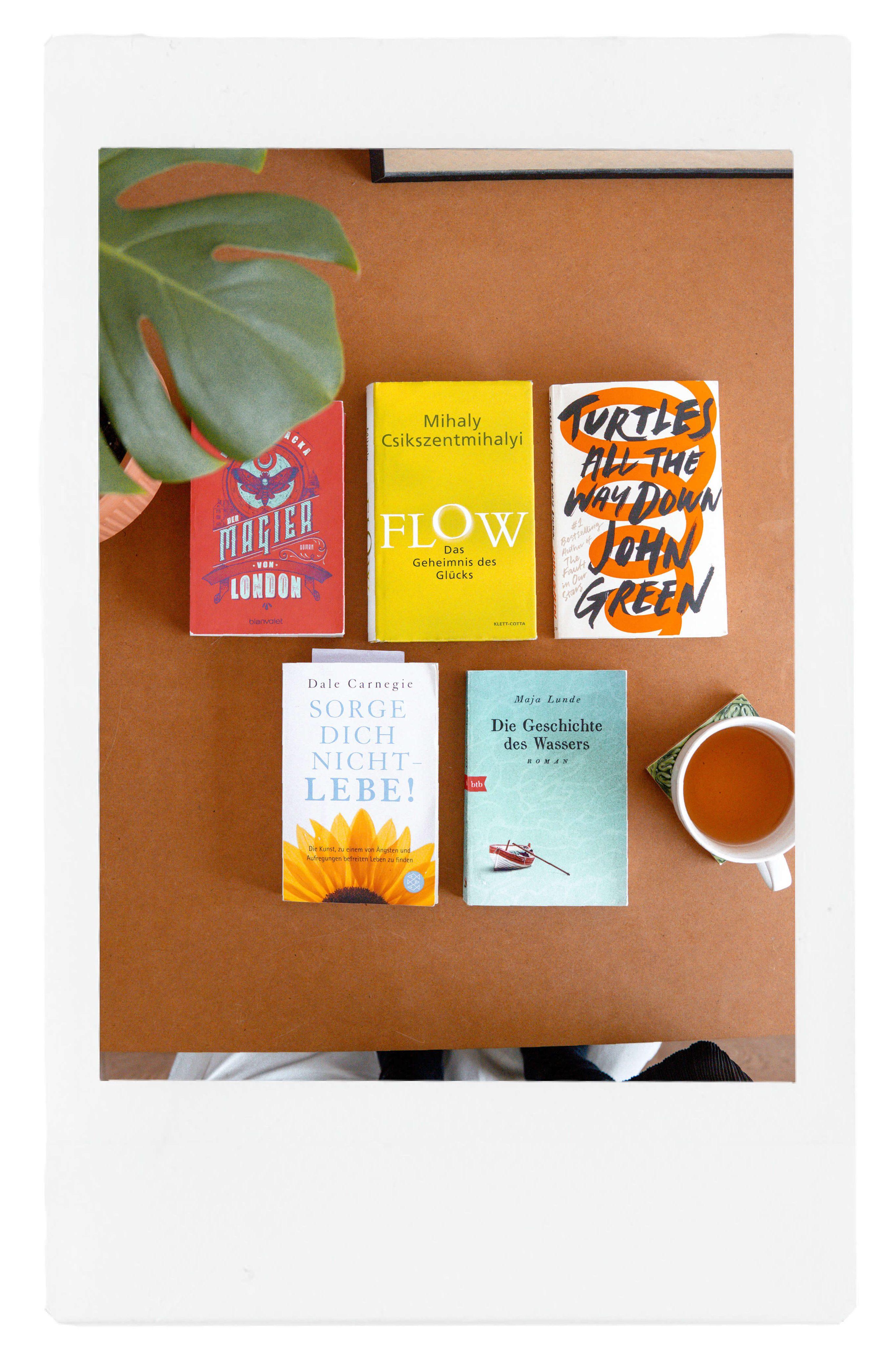 Brainfood im Frühjahr: Gelesene Bücher in 2020
